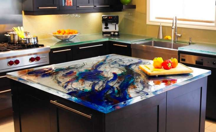 http://www.idesignarch.com/glass-kitchen-countertops-by-thinkglass/