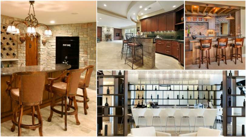 22 Simple Ways to Upgrade Your Home Bar | CreativeDesign.tips