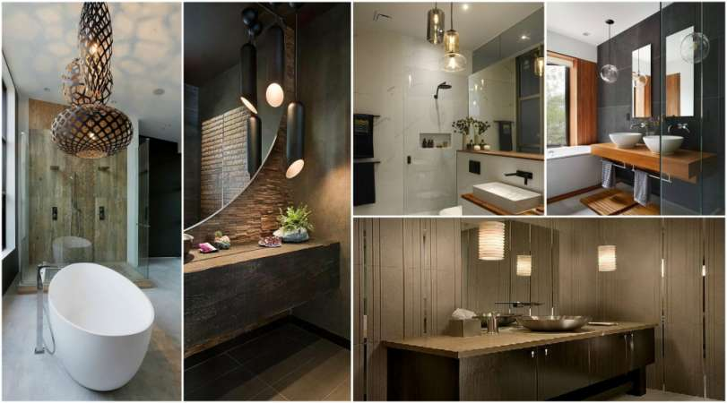 17 Contemporary Bathroom Lighting Ideas | CreativeDesign.tips