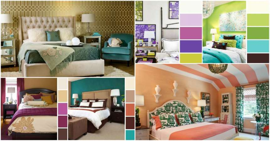16 Best Color Combos To Spice Up Your Bedroom Decor