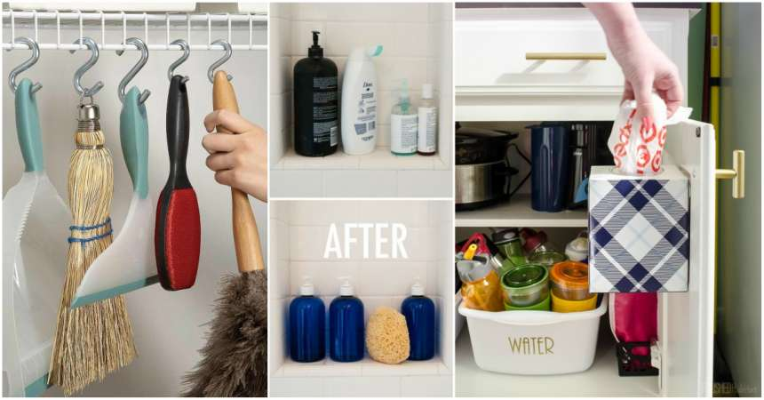 Keeping Your Home Clean And Tidy Is Not Easy As This Includes Designating Particular Set Of Items To Specific Places Organizing Diffe Household
