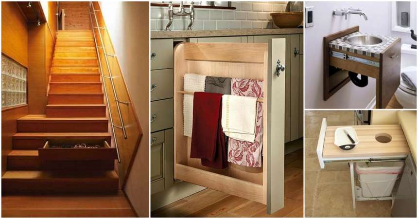 17 Clever Hiding Places Around Your House Creativedesign