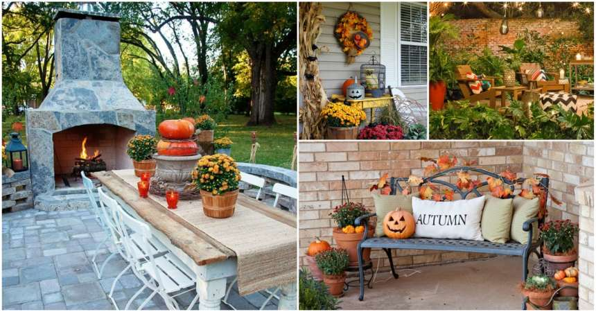 18 Ways To Decorate Your Patio This Fall Creativedesign Tips
