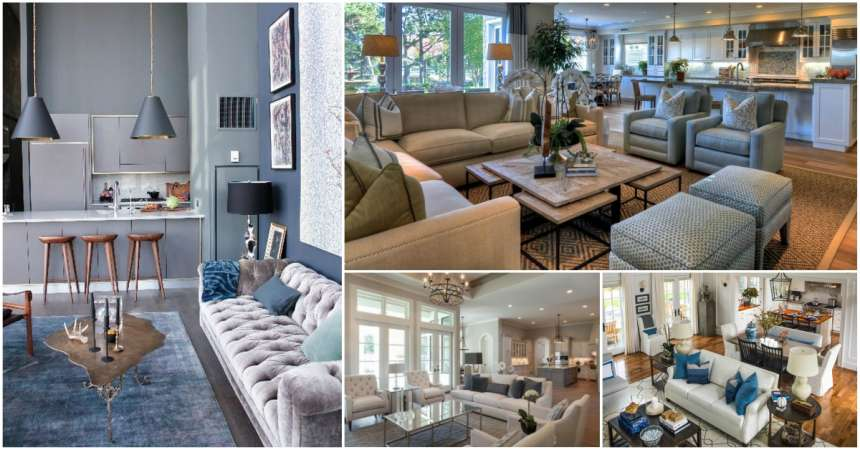 18 Tips To Unite Living Room And The Dining Room Right