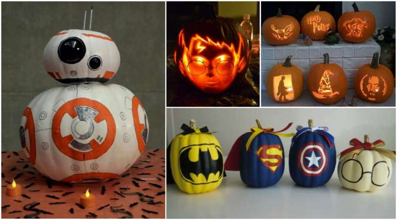 18 Amazing Pumpkin Halloween Ideas For Geeks Creativedesigntips - Use-pumpkins-to-decorate-your-house-for-halloween