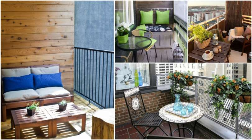17 Awesome Small Balcony Designs Ideas