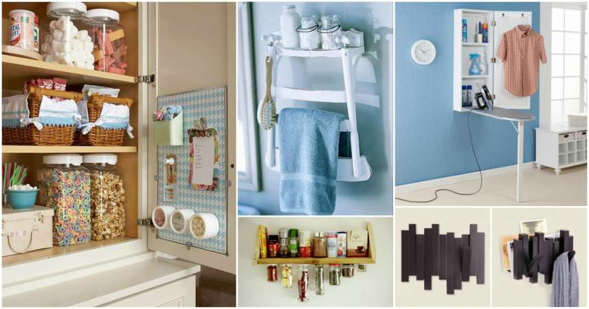 17 Best Small Space Hacks You Need to Try | CreativeDesign.tips