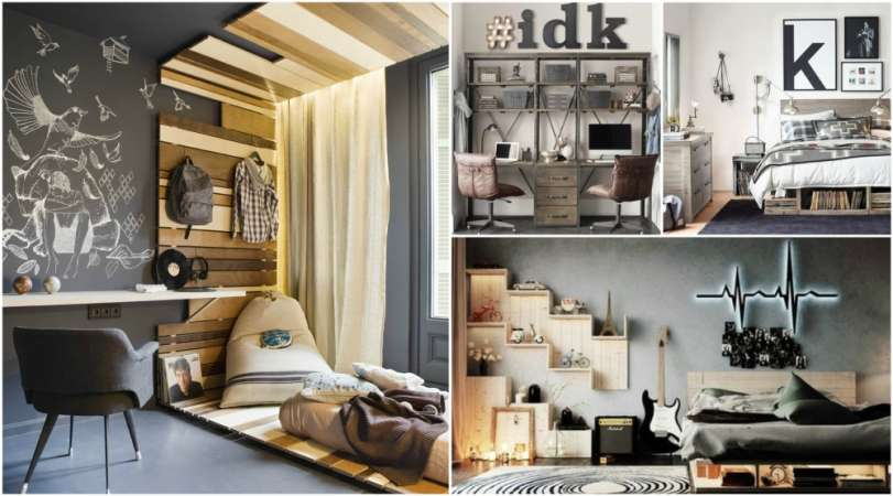 18 Creative Teenage Boys Room Designs We Love