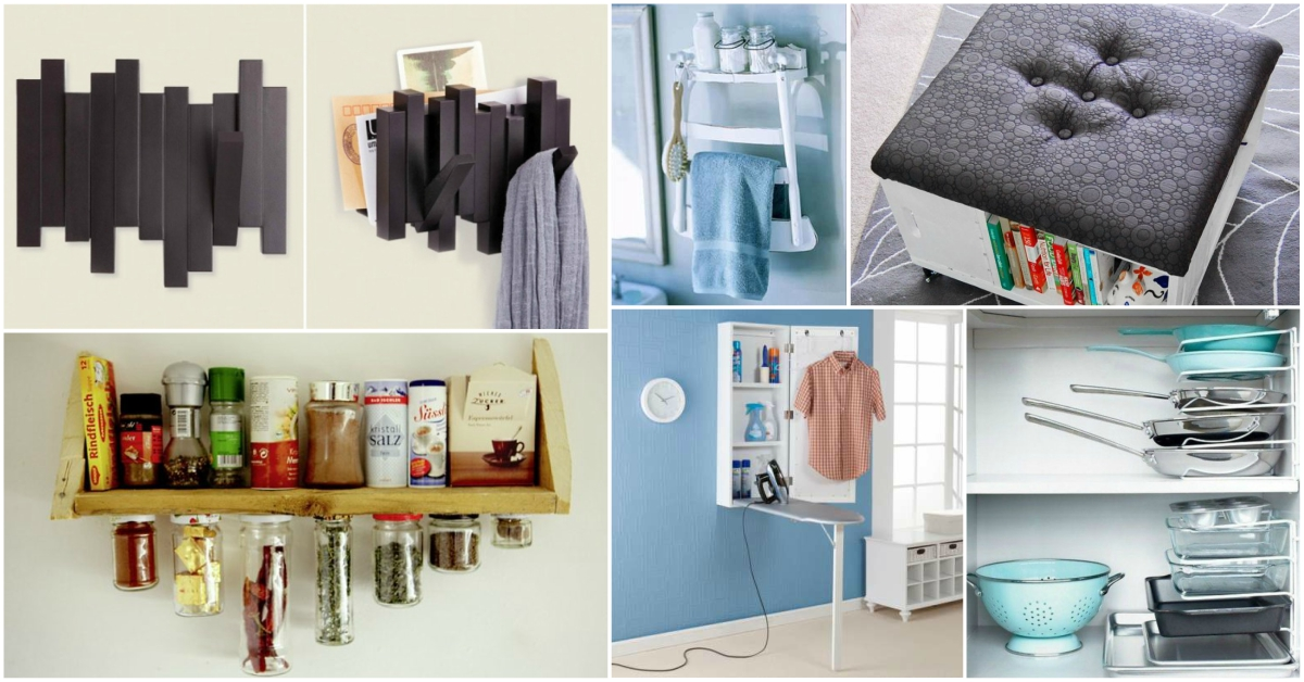 17 Best Small Space Hacks and Design Ideas | CreativeDesign.tips